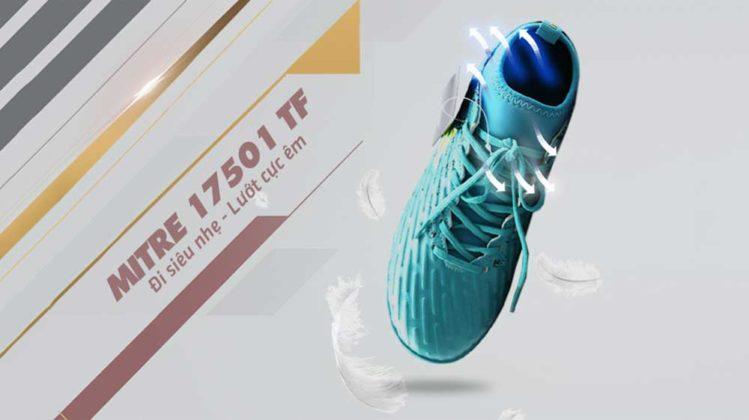 giày bóng đá mitre 170501 tf