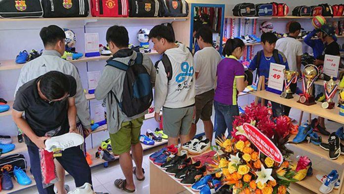 giày pan giá rẻ tphcm, giày pan thái tphcm