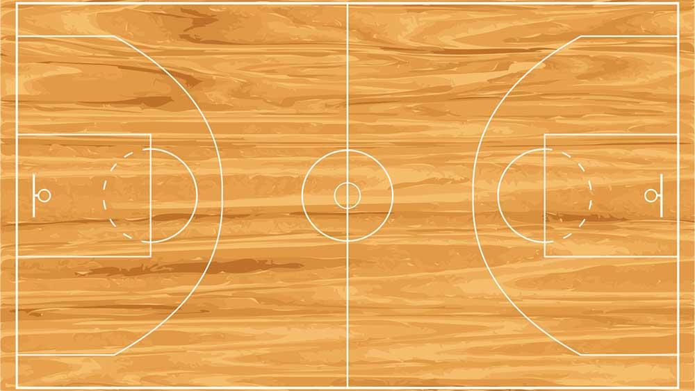 kích thước sân bóng rổ tiêu chuẩn