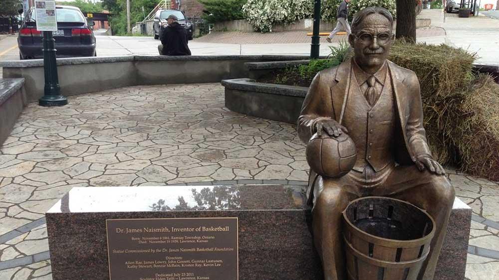 bóng rổ ra đời ở đâu