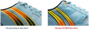 Chất liệu cấu tạo giày Pan