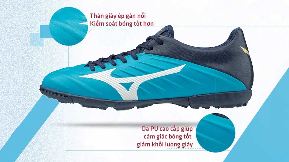 Thân giày bóng đá Mizuno Rebula 2 V3 AS