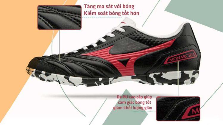 chọn giày tiền vệ cho sân cỏ nhân tạo