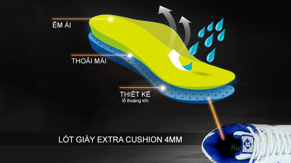 lót giày cầu lông kumpoo KH-20