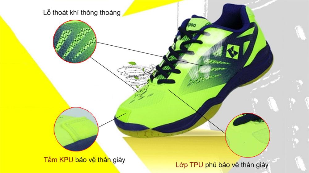 giày cầu lông Kumpoo KH205