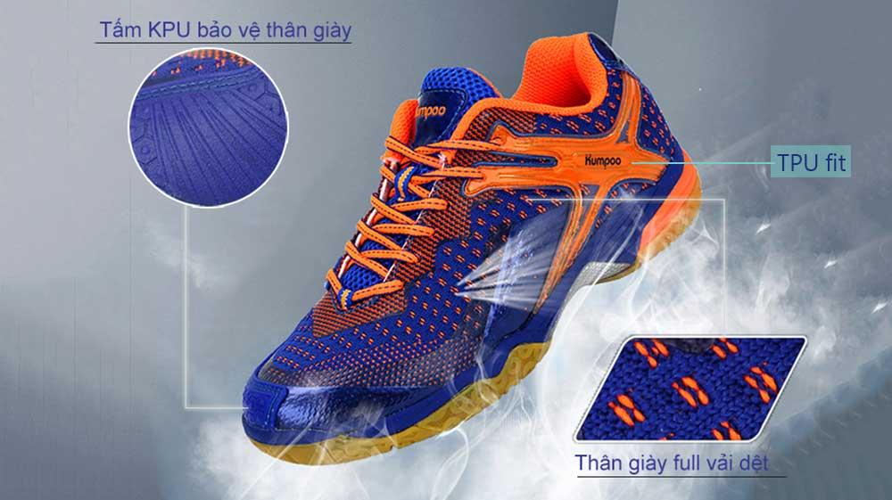giày cầu lông kumpoo kh-221