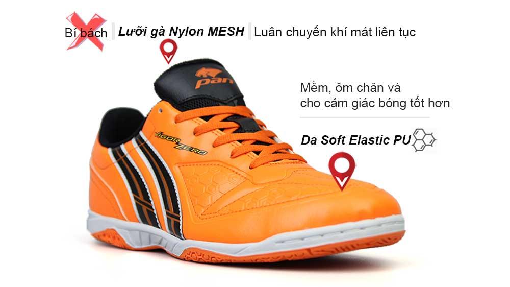 giày bóng đá pan Vigor zero IC