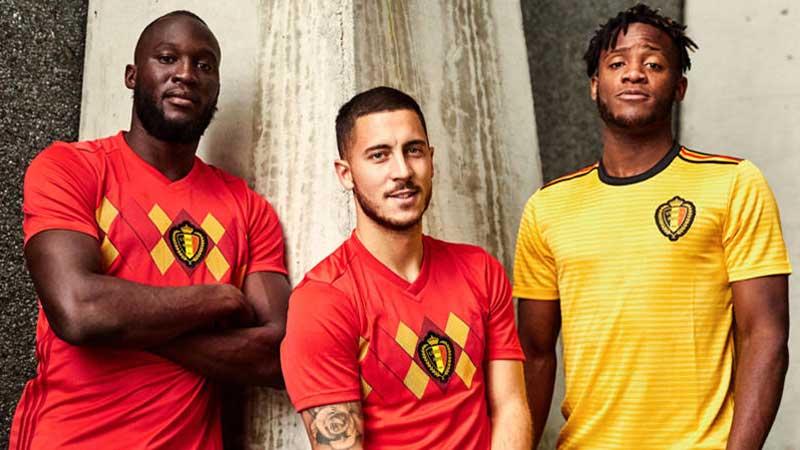 quần áo bóng đá Bỉ 2018