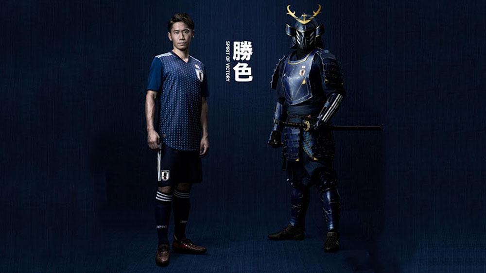 quần áo đấu Nhật Bản 2018