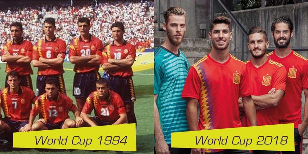 áo bóng đá Tây Ban Nha