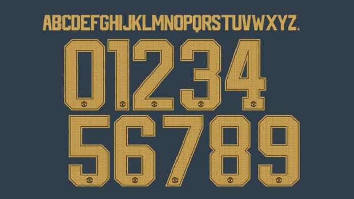 font số áo mu 2018-2019