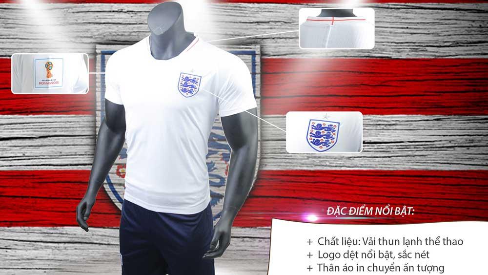 áo bóng đá màu trắng