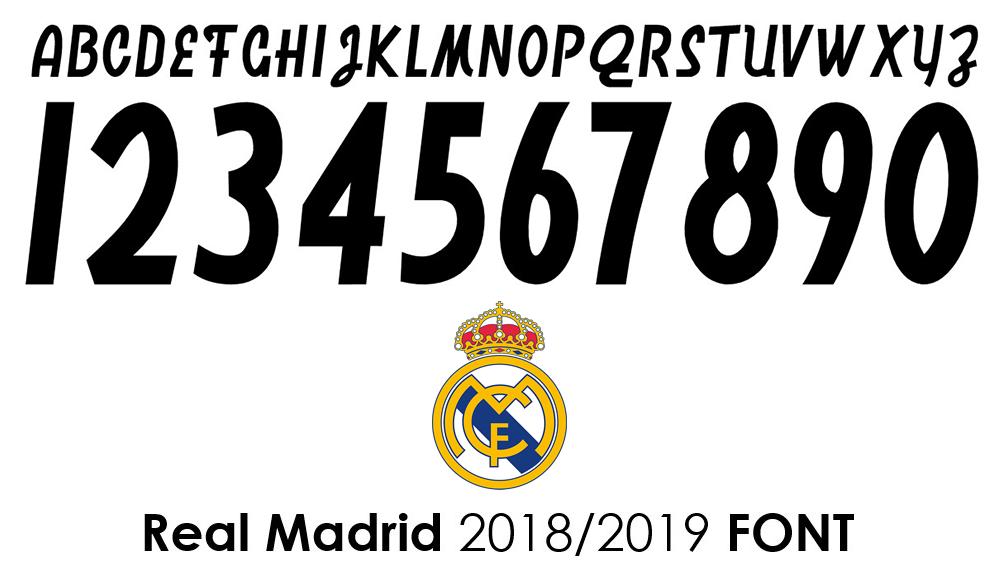 số áo real 2018