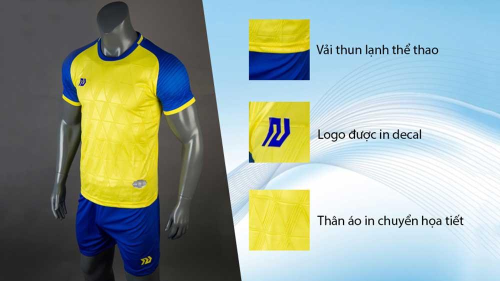 áo bóng đá màu vàng