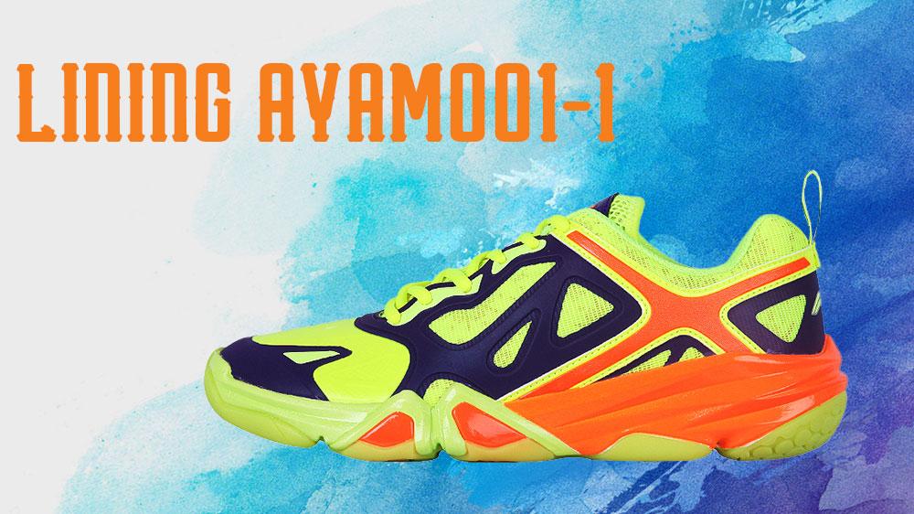Giày Cầu Lông Lining AYAM001
