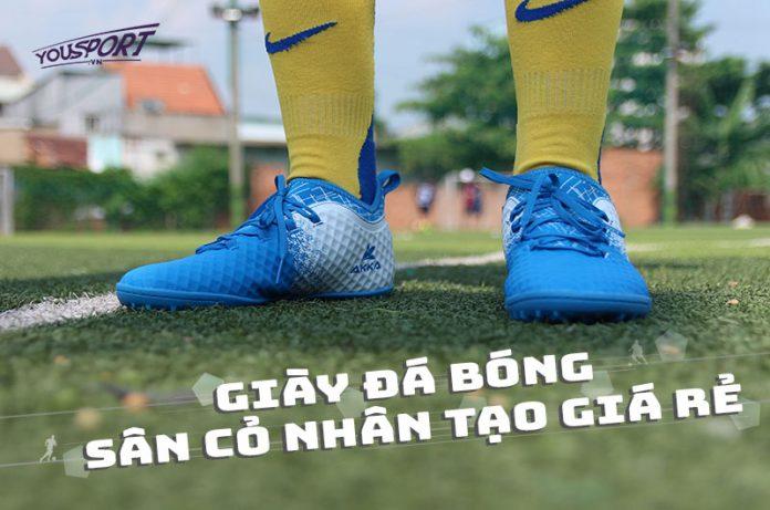 Giày đá bóng sân cỏ nhân tạo giá rẻ