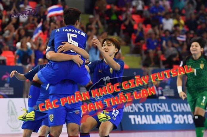 Các phân khúc giày futsal Pan Thái Lan