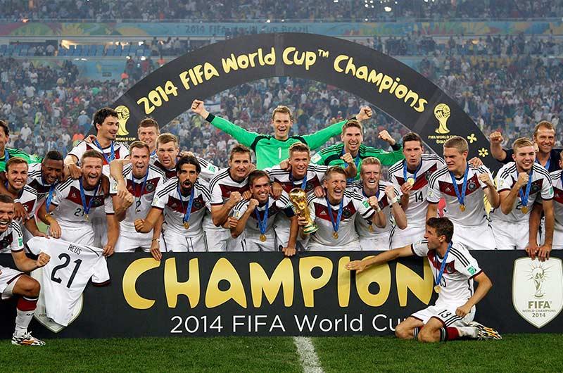 Đức vô địch worldcup 2014
