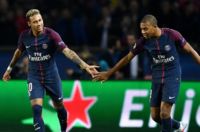 CLB PSG neymar mbappe
