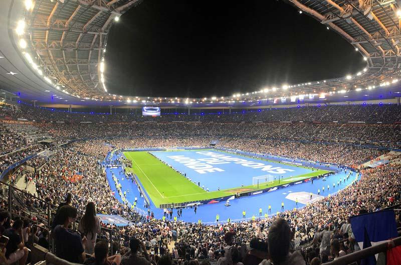 sân nhà đội tuyển Pháp