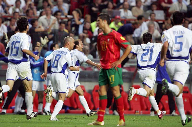 thất bại của tuyển Bồ Đào Nha